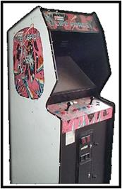 Arcade Cabinet for Lifeforce.