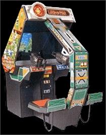 Arcade Cabinet for Line of Fire / Bakudan Yarou.