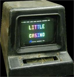 Arcade Cabinet for Little Casino.