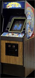 Arcade Cabinet for Loco-Motion.