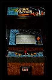 Arcade Cabinet for Lode Runner.