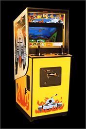Arcade Cabinet for M-4.