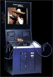 Arcade Cabinet for Mad Dog II: The Lost Gold  .