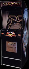 Arcade Cabinet for Magic Worm.