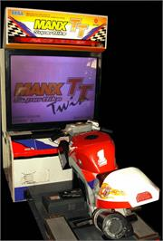 Arcade Cabinet for Manx TT Superbike.