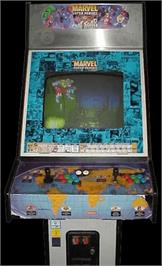 Arcade Cabinet for Marvel Super Heroes Vs. Street Fighter.