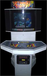 Arcade Cabinet for Marvel Vs. Capcom: Clash of Super Heroes.