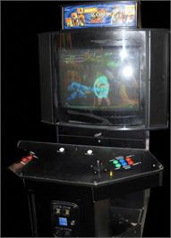 Arcade Cabinet for Marvel Vs. Capcom 2 New Age of Heroes.