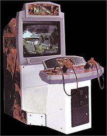 Arcade Cabinet for Maximum Force.