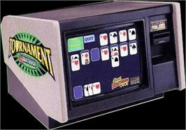 Arcade Cabinet for Megatouch III Tournament Edition.