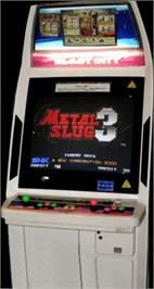 Arcade Cabinet for Metal Slug 3.