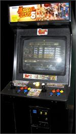 Arcade Cabinet for Metal Slug 6.