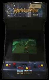 Arcade Cabinet for Metamorphic Force.