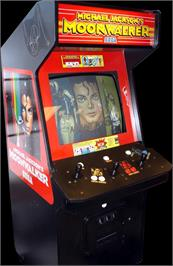 Arcade Cabinet for Michael Jackson's Moonwalker.