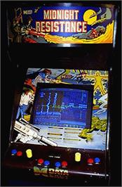 Arcade Cabinet for Midnight Resistance.