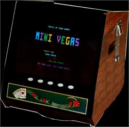 Arcade Cabinet for Mini Vegas 4in1.