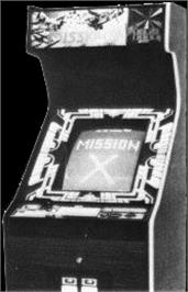 Arcade Cabinet for Mission-X.