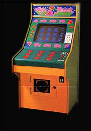 Arcade Cabinet for Mole Attack.