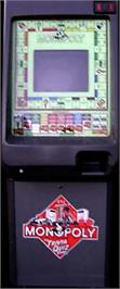 Arcade Cabinet for Monopoly.