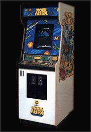 Arcade Cabinet for Moon Alien Part 2.