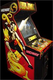 Arcade Cabinet for Mortal Kombat.