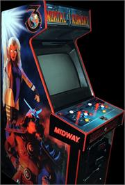 Arcade Cabinet for Mortal Kombat 4.