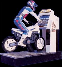 Arcade Cabinet for Moto Frenzy.