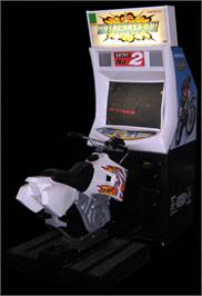 Arcade Cabinet for Motocross Go!.