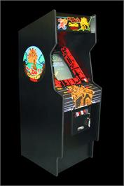 Arcade Cabinet for Mr. Do's Castle.