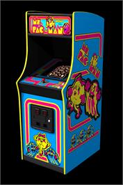 Arcade Cabinet for Ms. Pac-Man Plus.