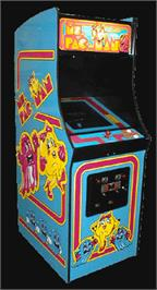 Arcade Cabinet for Ms. Pac Attack.