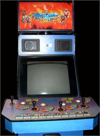 Arcade Cabinet for Muscle Bomber: The Body Explosion.