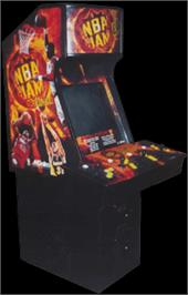 Arcade Cabinet for NBA Jam Extreme.