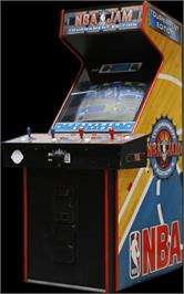 Arcade Cabinet for NBA Jam TE.