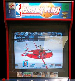 Arcade Cabinet for NBA Play By Play.