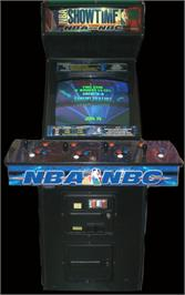 Arcade Cabinet for NBA Showtime: NBA on NBC.