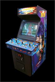 Arcade Cabinet for NFL Blitz '99.