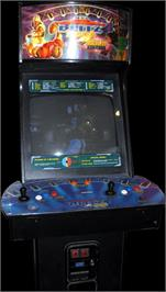 Arcade Cabinet for NFL Blitz 2000 Gold Edition.
