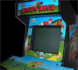 Arcade Cabinet for Neck-n-Neck.