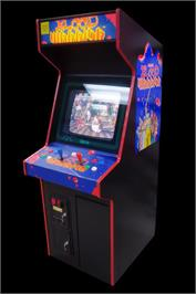 Arcade Cabinet for Oedo Fight.