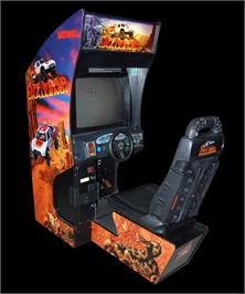 Arcade Cabinet for Off Road Challenge.