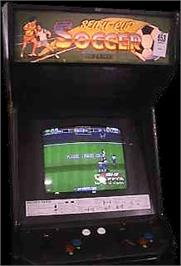 Arcade Cabinet for Olympic Soccer '92.