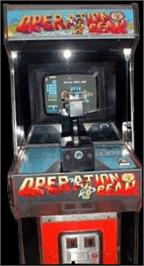 Arcade Cabinet for Operation Bear.
