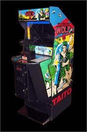 Arcade Cabinet for Operation Wolf.