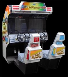 Arcade Cabinet for OutRunners.