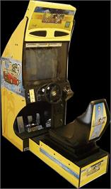 Arcade Cabinet for Out Run 2 Special Tours.