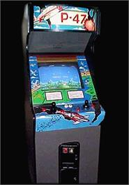 Arcade Cabinet for P-47 - The Freedom Fighter.