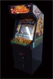 Arcade Cabinet for P.O.W. - Prisoners of War.