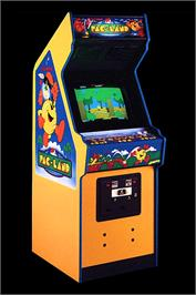 Arcade Cabinet for Pac-Land.