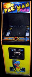 Arcade Cabinet for Pac-Man Plus.